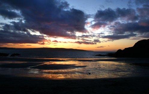 Pwllgwaelod-sunset